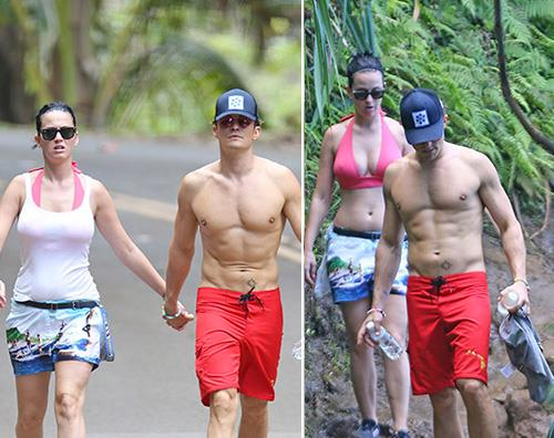 Katy Perry e Orlando Bloom insieme alle Hawaii
