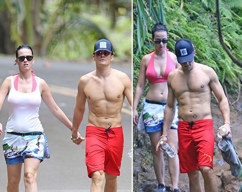 Katy Perry e Orlando Bloom insieme alle Hawaii
