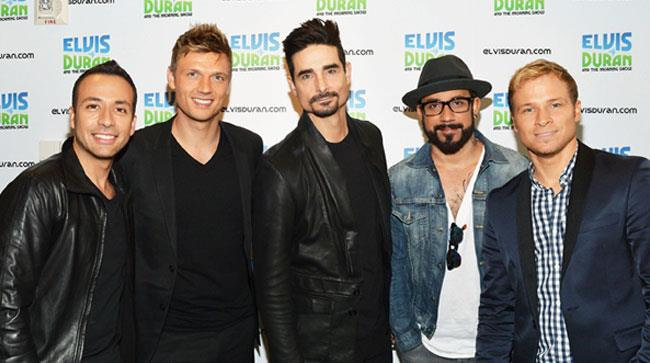 I componenti dei Backstreet Boys