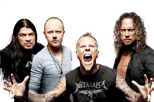La band metal Metallica