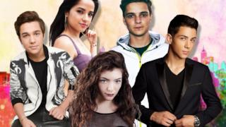 Austin Mahone, Becky G, Lorde, Martin Garrix, Luis Coronel Under 21