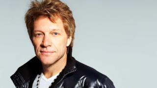 Il cantante Jon Bon Jovi