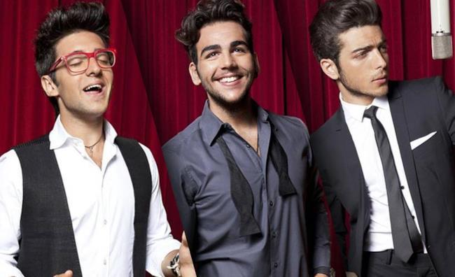 I tre tenori de Il Volo