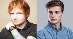 Primo piano di Ed Sheeran e Martin Garrix