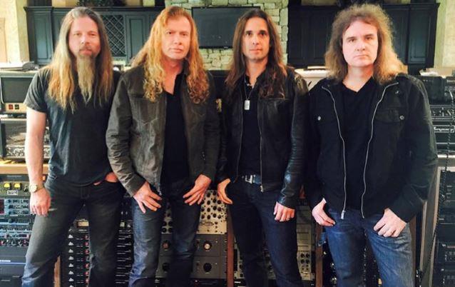 La nuova line up dei Megadeth