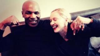 Mike Tyson con Madonna