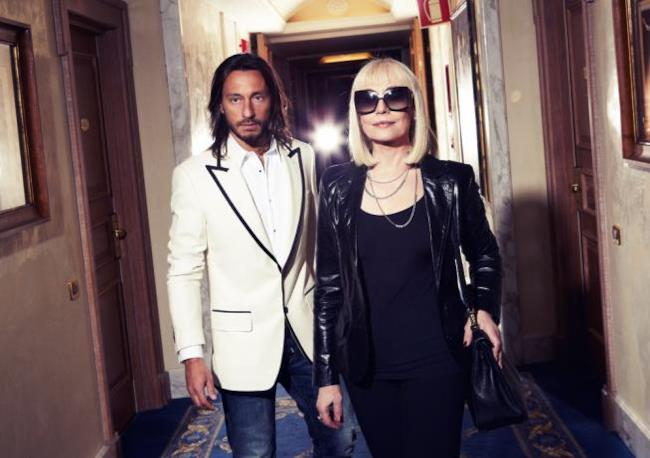 Bob Sinclar e Raffaella Carrà in foto insieme
