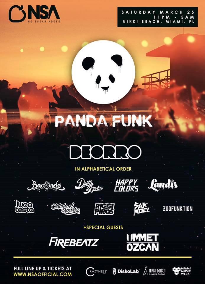 Panda Funk @ Nikki Beach