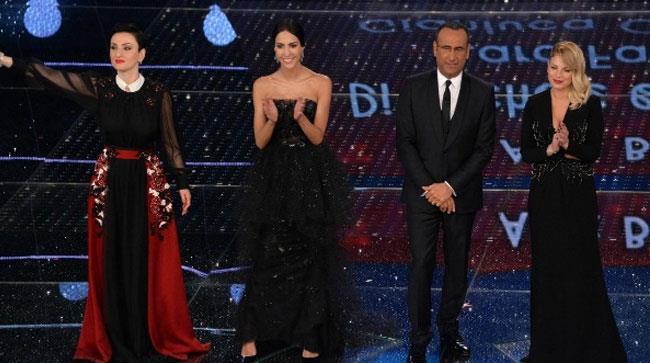 Carlo Conti, Arisa, Rocio e Emma
