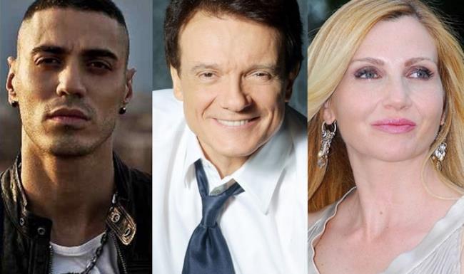 Marracash, Massimo Ranieri e Lorella Cuccarini