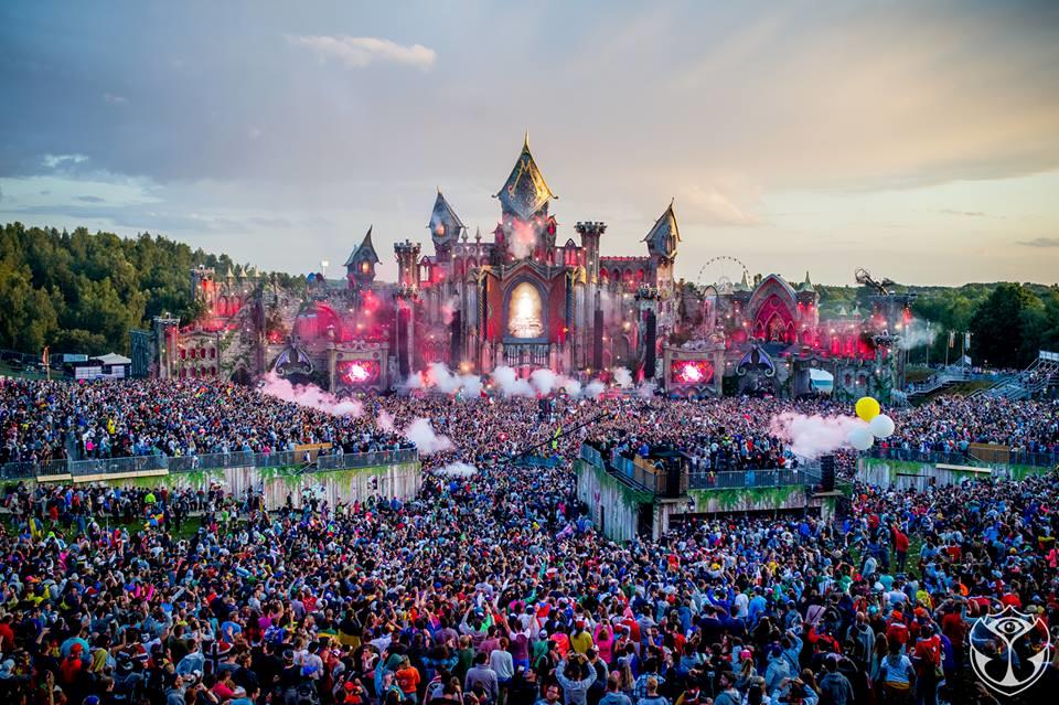 Tomorrowland 2015 stage
