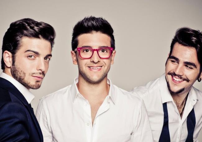 Piero, Ignazio e Gianluca del trio Il Volo