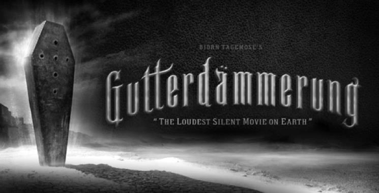 Copertina del film muto Gutterdämmerung