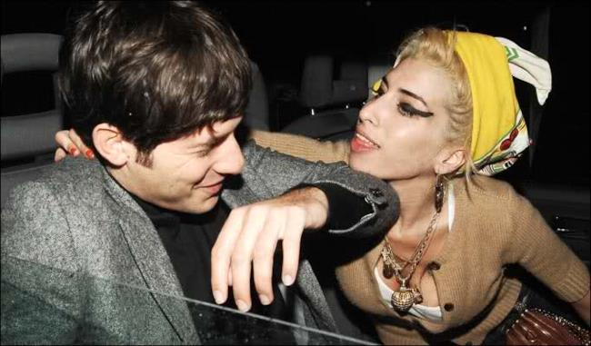 Mark Ronson con Amy Winehouse