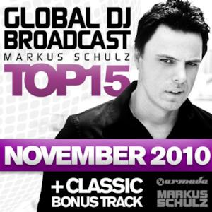 Global DJ Broadcast Top 15: November 2010 (Including Bonus Track)