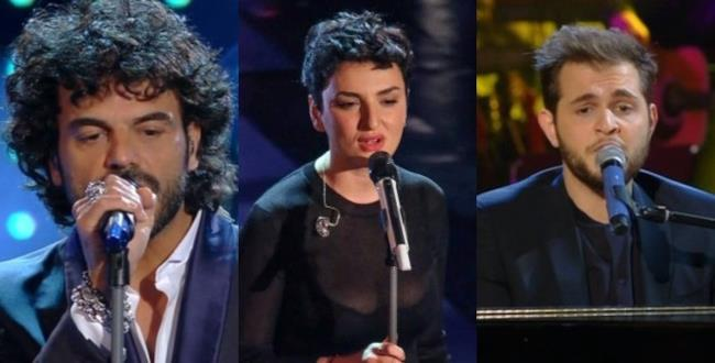 Francesco Renga, Arisa, Renzo Rubino