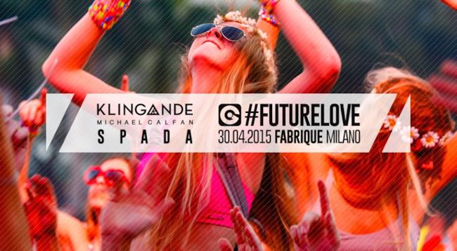 Locandina EGO Future Love Festival 2015