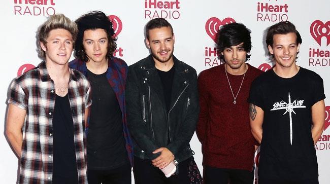 I cinque componenti dei One Direction