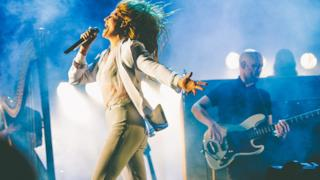 Florence and the machine Glastonbury 2015