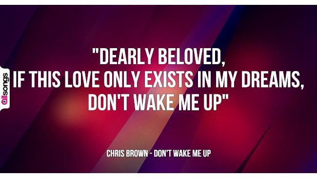 Ben noto Chris Brown: le migliori frasi dei testi delle canzoni | AllSongs PQ34