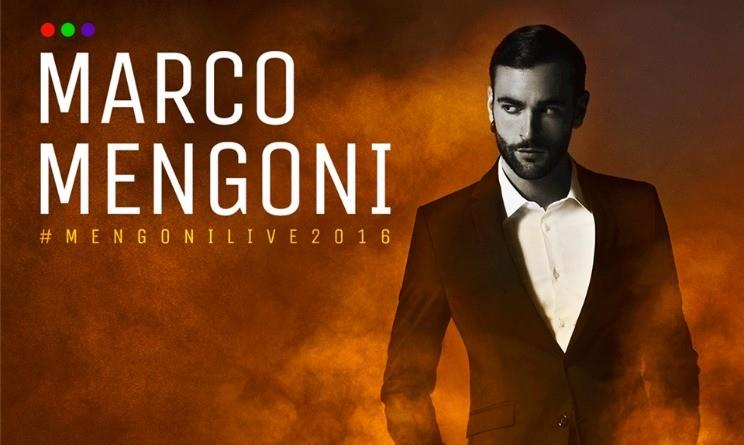 Marco Mengoni live 2016: il poster