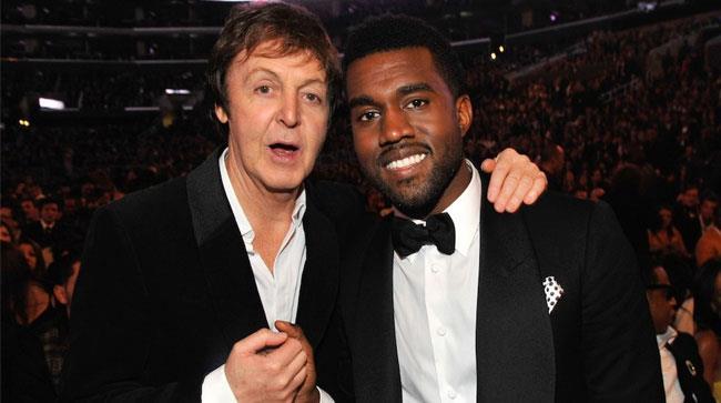 Paul McCartney e Kanye West