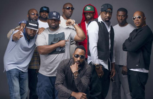 I componenti del Wu-Tang Clan
