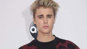 Justin Bieber in posa per i fotografi