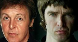 Paul McCartney e Noel Gallagher