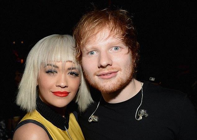 Ed Sheeran e Rita Ora