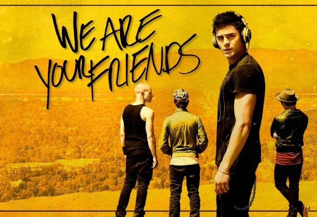 Una scena del film We Are Your Friends con Zac Efron