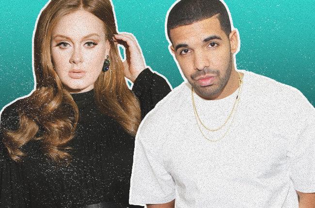 Adele e Drake