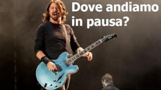 Dave Grohl: i Foo Fighters si prendono una pausa