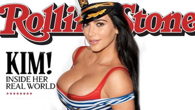 Kim in versione marinaretta su Rolling Stone