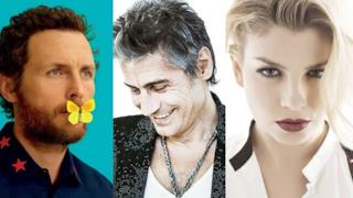 Jovanotti, Ligabue, Emma Marrone