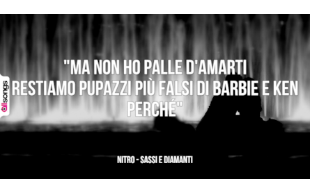 Nitro Le Migliori Frasi Dei Testi Delle Canzoni Allsongs