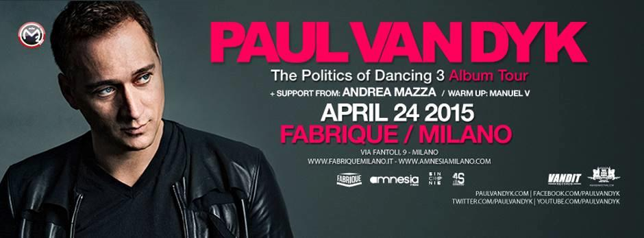Paul Van Dyk @ Fabrique