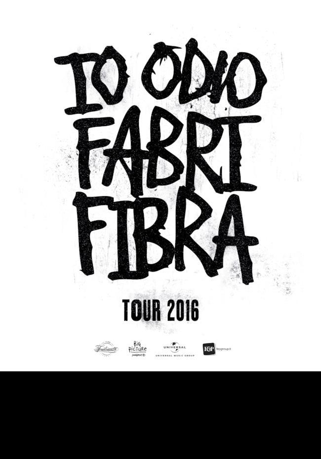 io odio fabri fibra locandina tour 2016