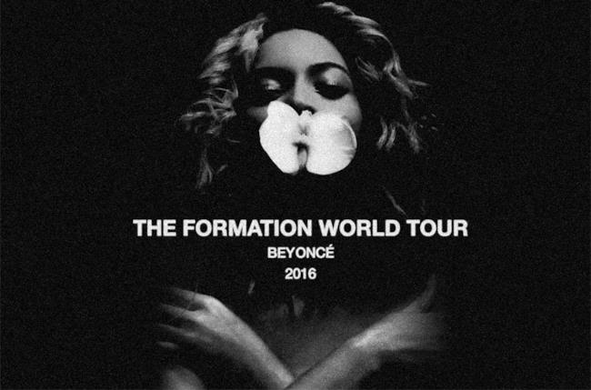 Beyoncé tour 2016