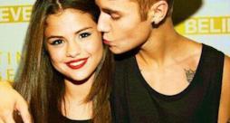 Justin Bieber bacia Selena Gomez