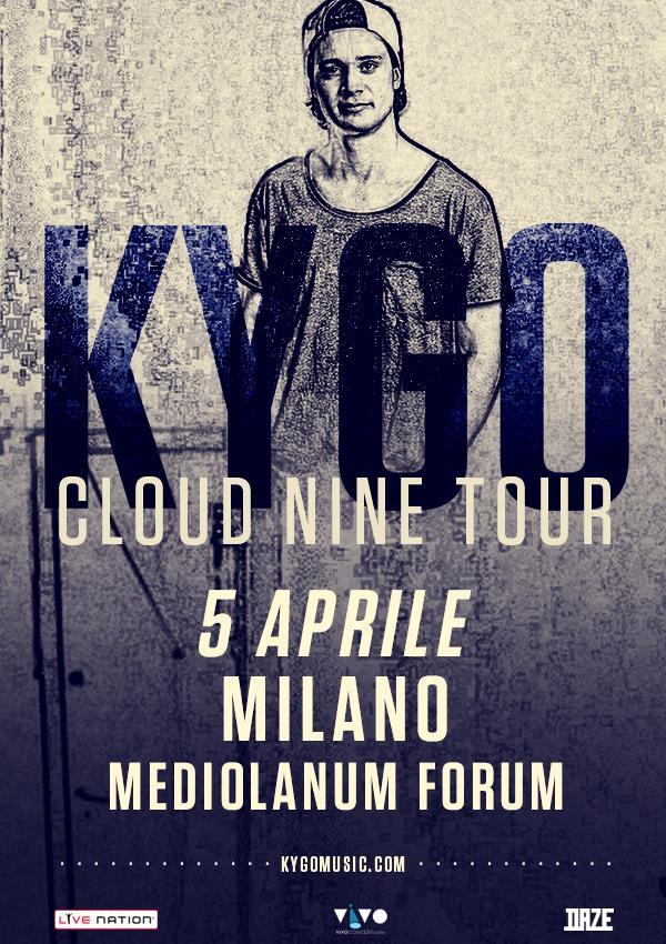 Kygo live set il 5 aprile 2016 al Forum di Milano