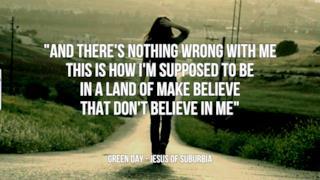 Green Day: le migliori frasi dei testi delle canzoni