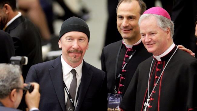Il chitarrista degli U2, The Edge