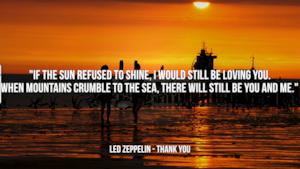 Led Zeppelin: le migliori frasi dei testi delle canzoni