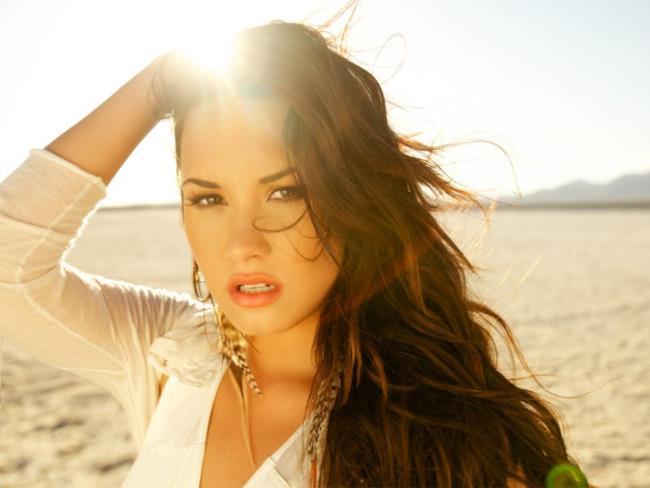 Demi Lovato, giovane star pop statunitense