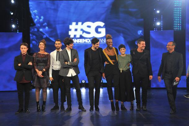 I cantanti delle Nuove Proposte a Sanremo 2016