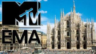 MTV EMA 2015 Milano