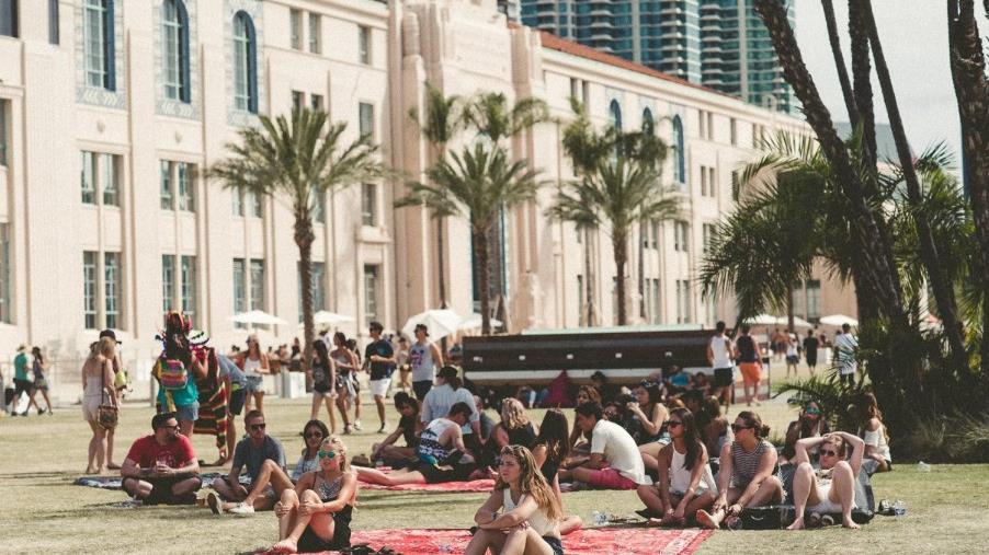 Il Festival CRSSD si è svolto nella magnifica baia di San Diego
