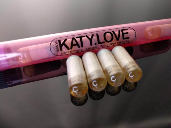 Le capsule in vendita della nuova sostanza KATY