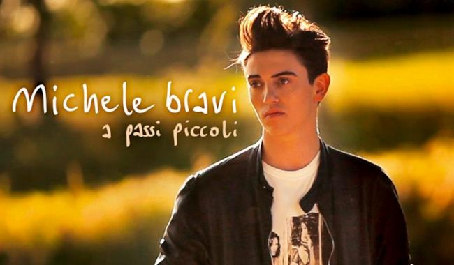 Michele Bravi cover album A passi piccoli